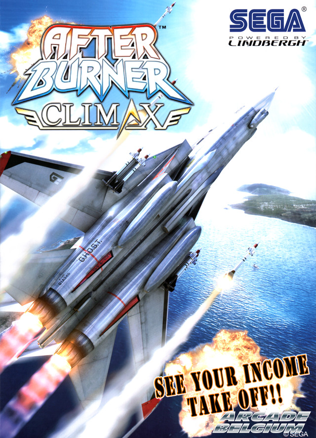 After Burner Climax Flyabca