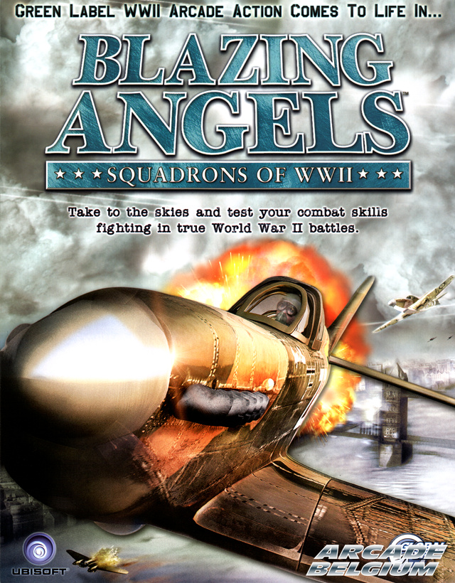 Blazing Angels - Squadrons of WWII Flybaa