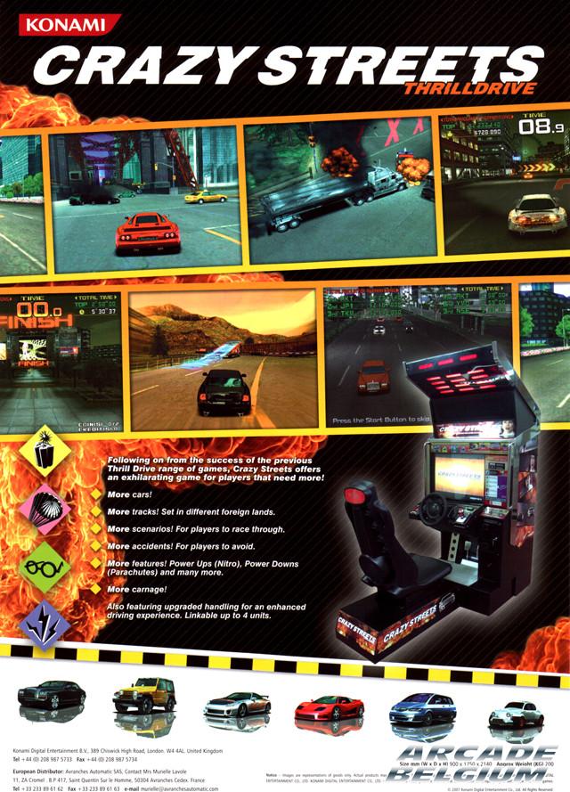Crazy Streets - Thrill Drive Flycstd