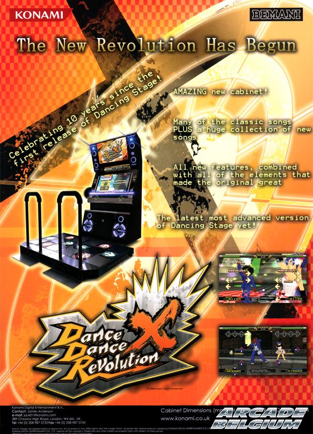 Dance Dance Revolution X Flyddrx01
