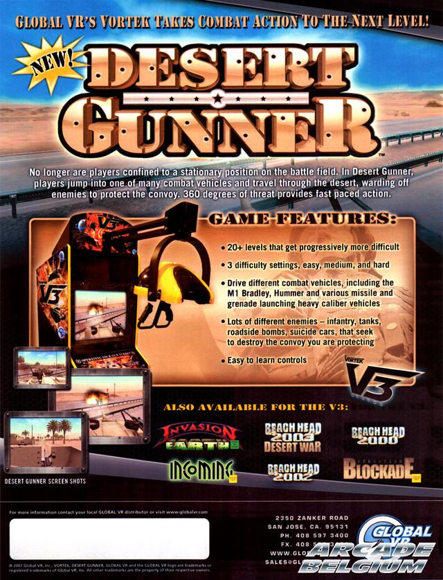 Desert Gunner Flydg