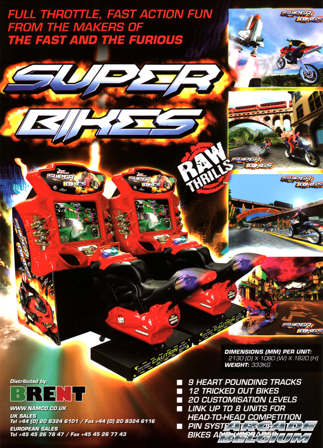 The Fast & The Furious Super Bikes Flyffsb