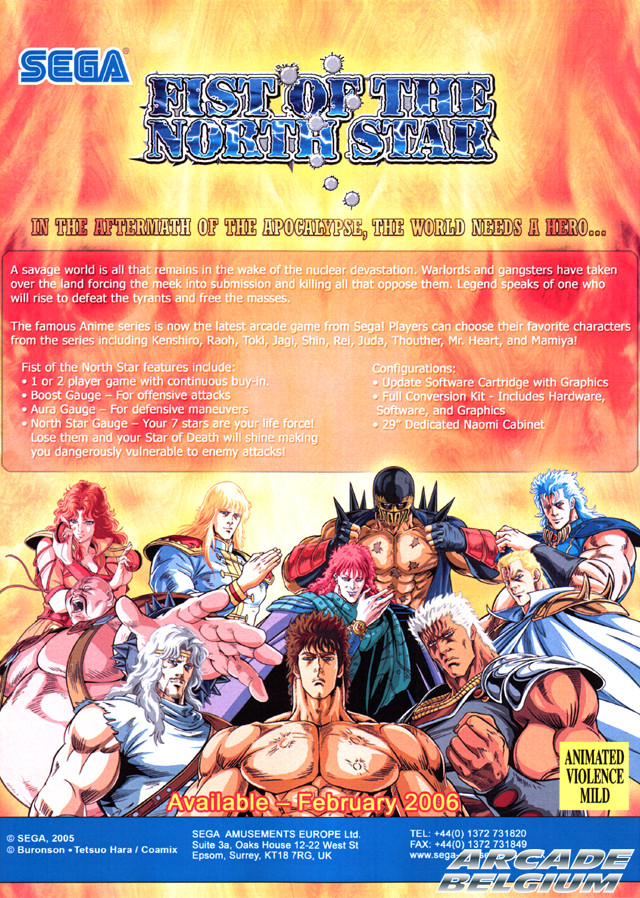 Fist of the Noth Star / Hokuto no Ken - Page 2 Flyfotns