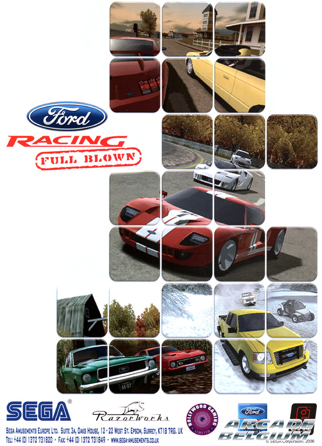 Ford Racing: Full Blown Flyfrfba