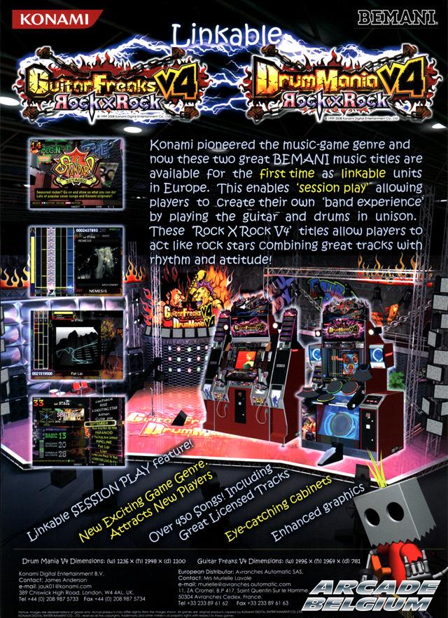GuitarFreaks & DrumMania V4 - Rock X Rock Flygfdm4