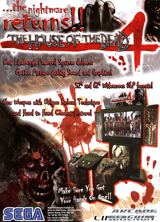 The House of the Dead 4 / Special Flyhotd4a