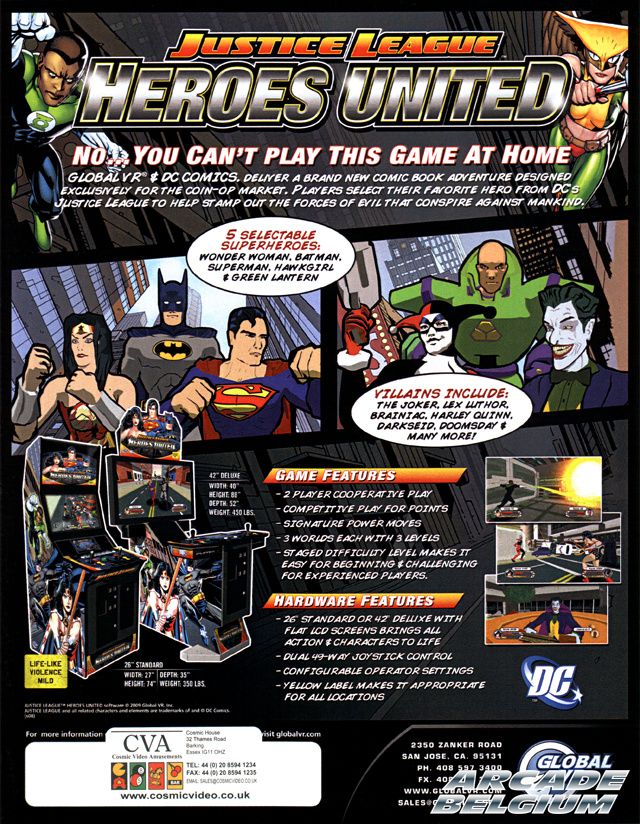 Justice League - Heroes United Flyjlhu01