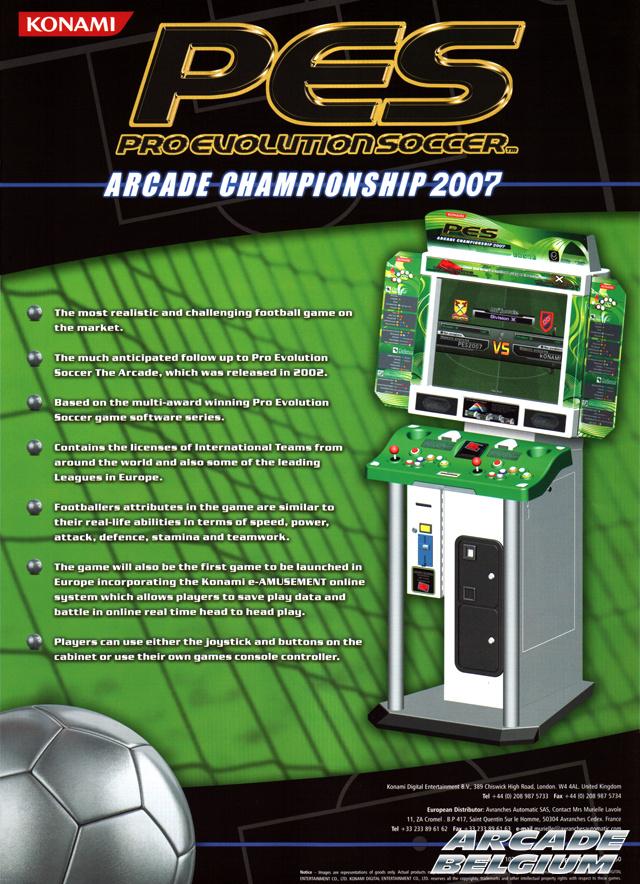 Pro Evolution Soccer - Arcade Championship 2007 Flypesac2007