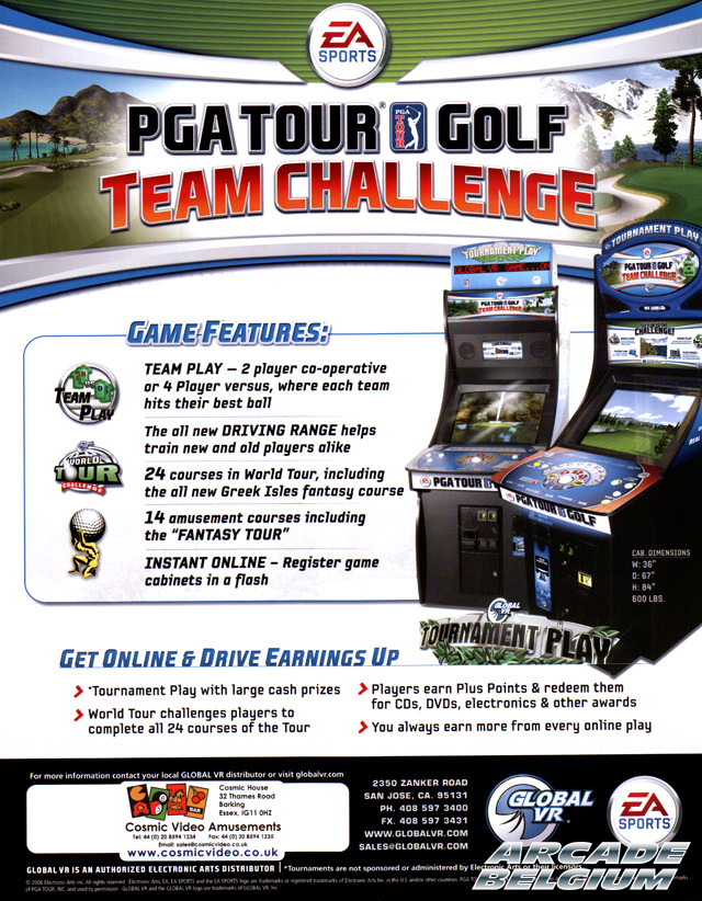 PGA Tour Golf - Team Challenge Flypgatgtc