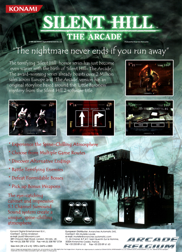Silent Hill - The Arcade Flysh