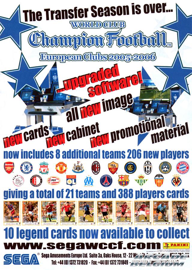 World Club Champion Football - European Clubs 2005-2006 Flywccfec0506