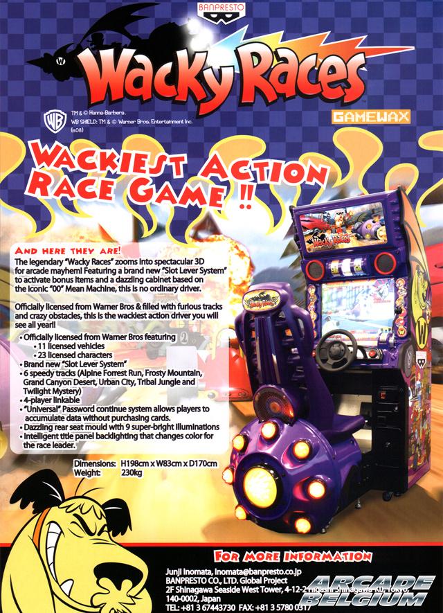 Wacky Races Flywr