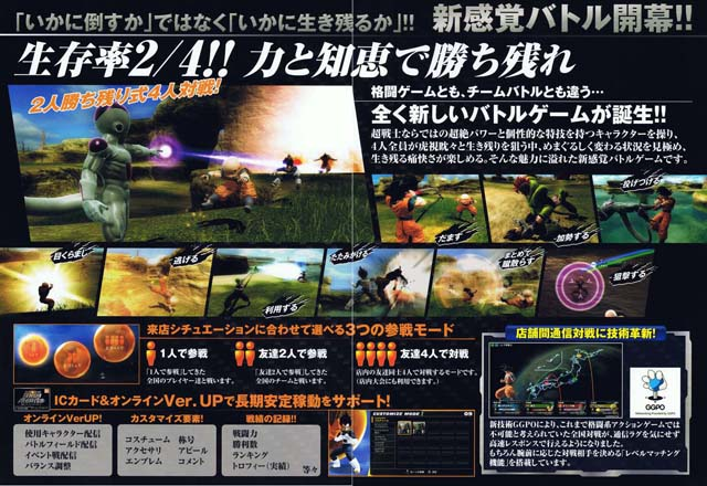 Dragon Ball Zenkai Battle Royale Dbz02