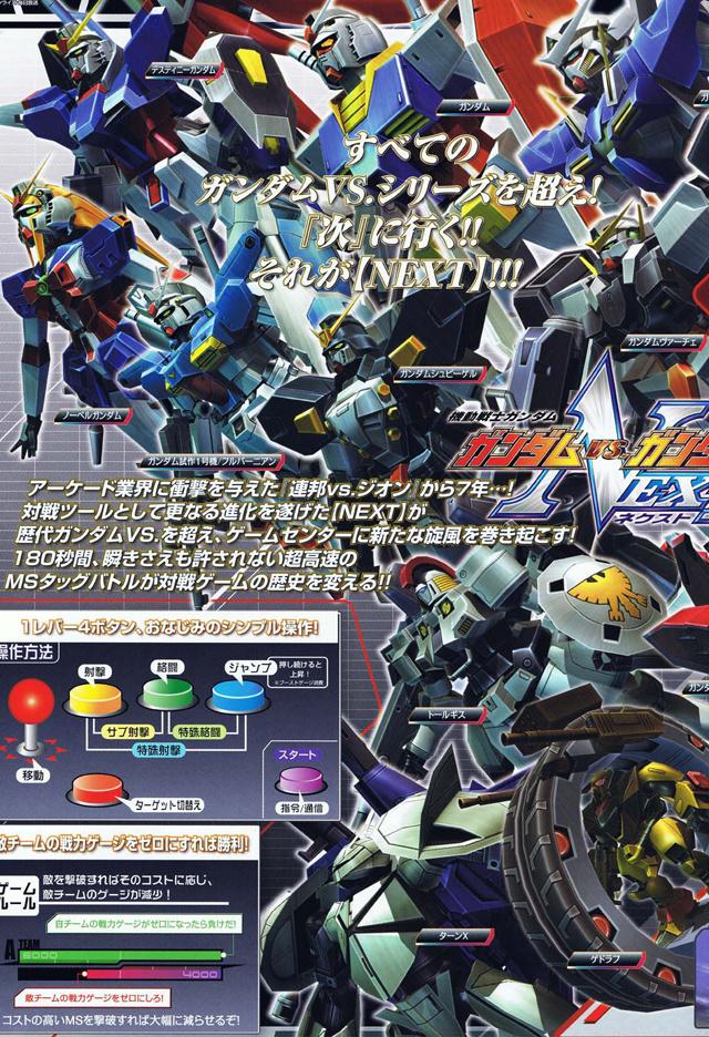 Mobile Suit Gundam - Gundam vs Gundam NEXT Gvgnf02