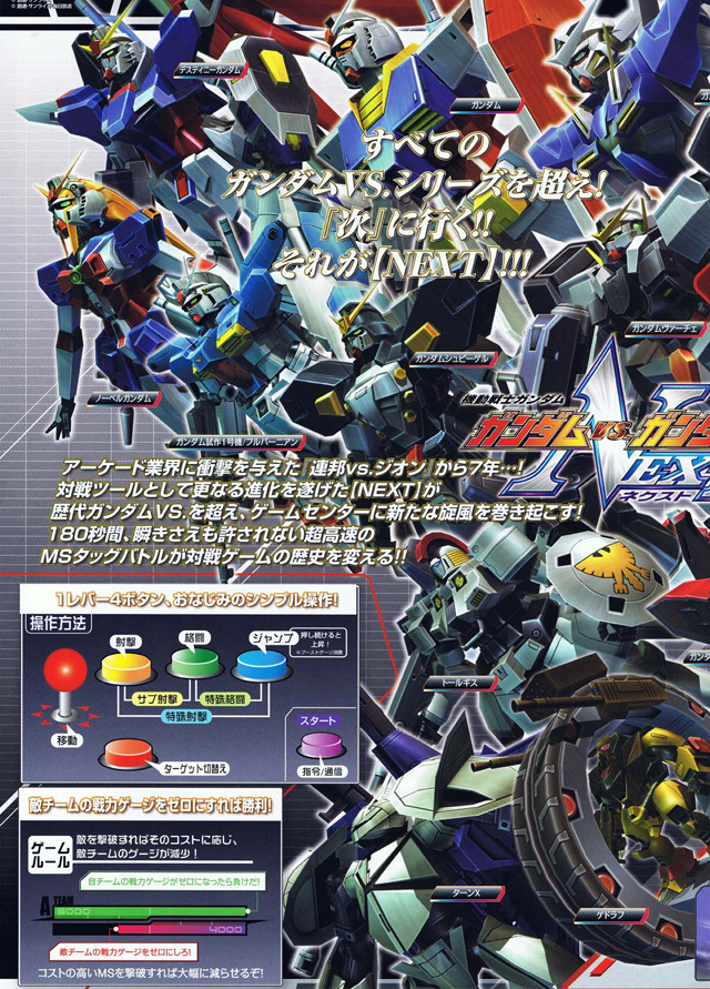 Mobile Suit Gundam - Gundam vs Gundam NEXT Gvgnf05