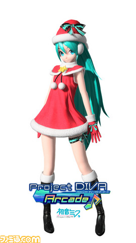 Hatsune Miku Project DIVA Arcade Miku_xmas_03