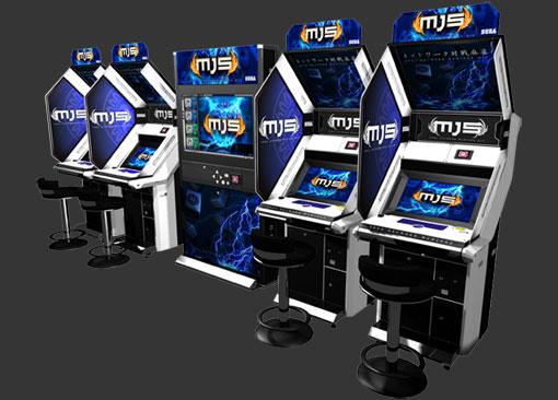 Sega Network Taisen Mahjong MJ5 Mj5_cab