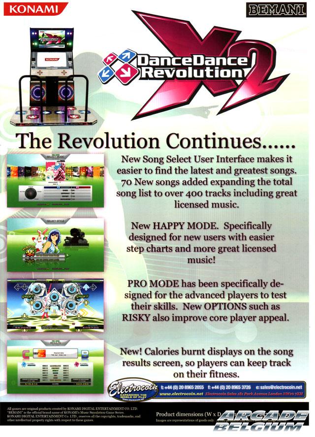 DanceDanceRevolution X2 Ddrx202