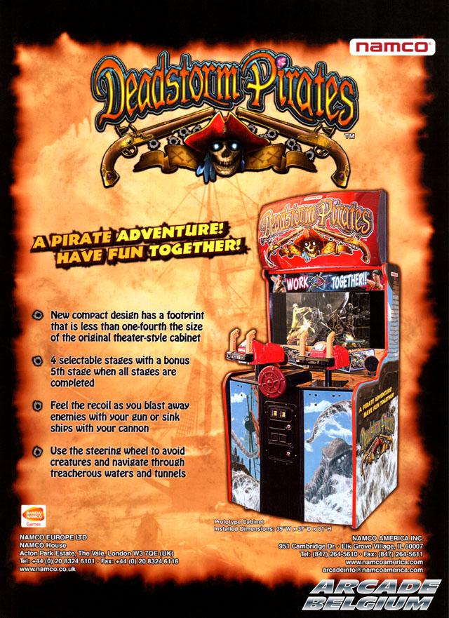 Deadstorm Pirates Dsp01