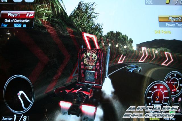 Power Truck Eag12133b
