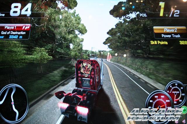 Power Truck Eag12138b