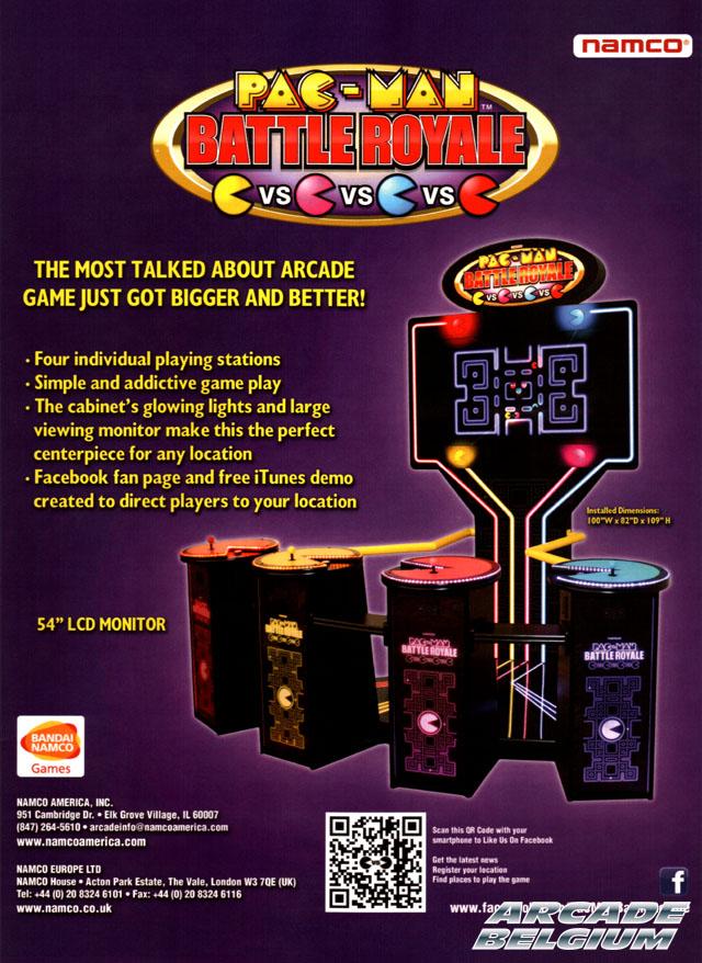 Pac-Man Battle Royale Pmbr01