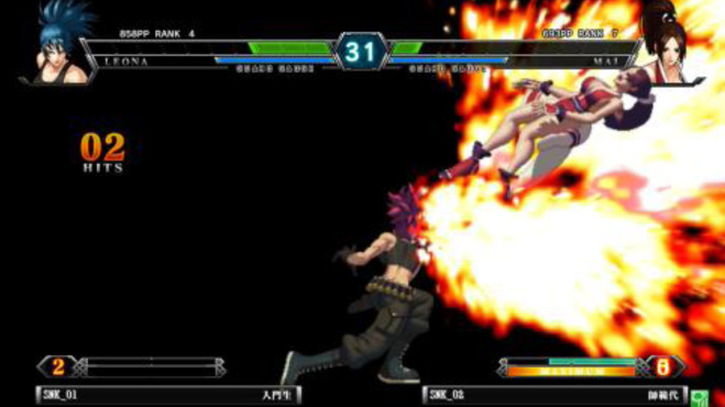 The King of Fighters XIII Climax for NESiCAxLive Kof13nes_08