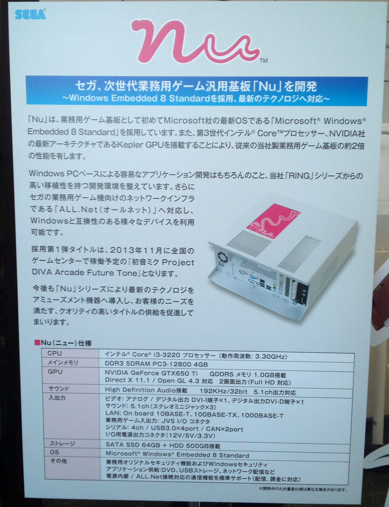 Hatsune Miku Project DIVA Arcade Future Tone Nu
