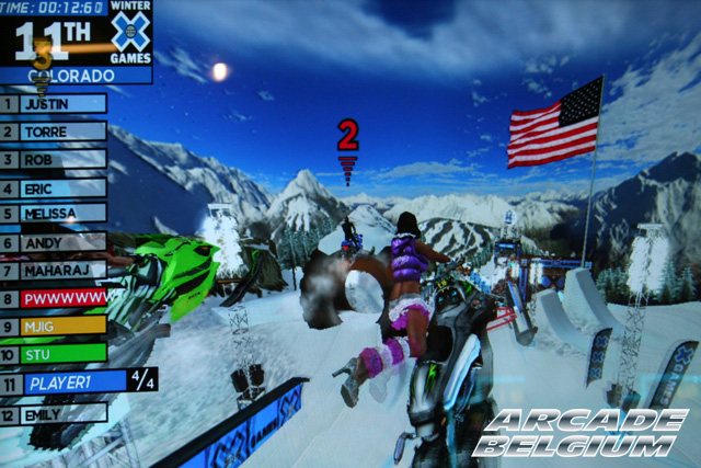 Winter X Games SnoCross Snox01b