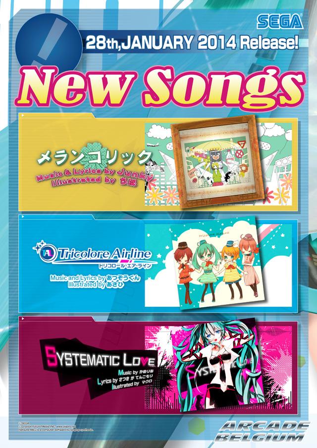 Hatsune Miku Project DIVA Arcade Future Tone Mikuft140128