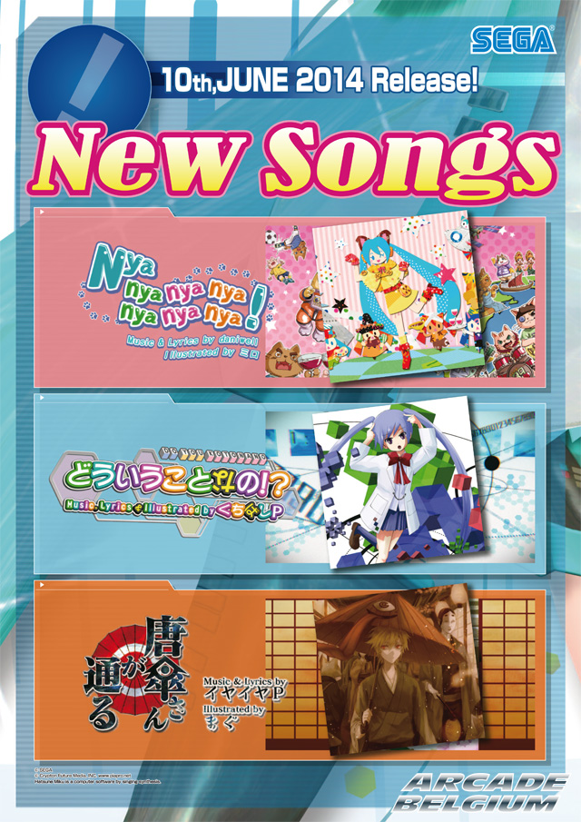 Hatsune Miku Project DIVA Arcade Future Tone Mikuft140610
