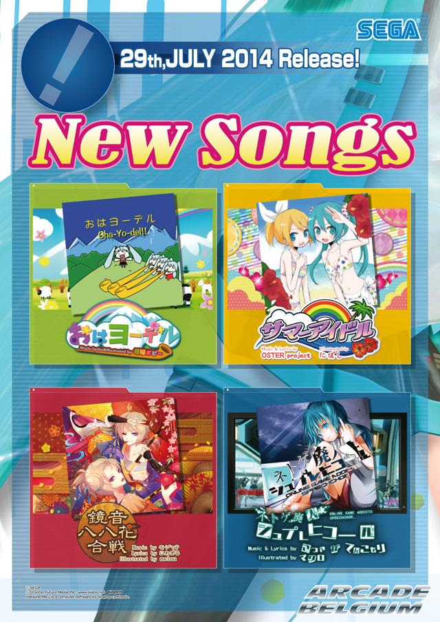 Hatsune Miku Project DIVA Arcade Future Tone Mikuft140729