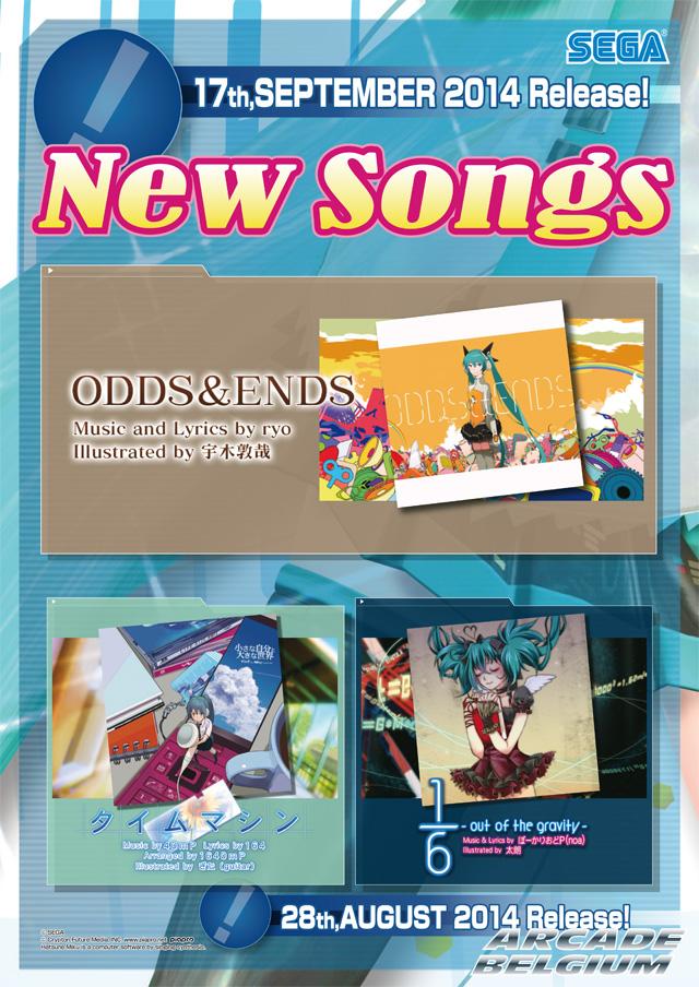 Hatsune Miku Project DIVA Arcade Future Tone Mikuft140917
