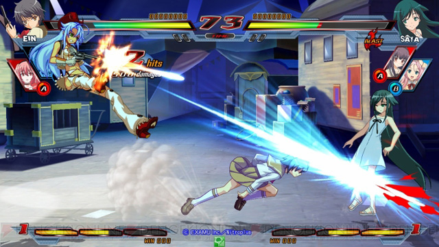 Nitro+ Blasterz - Heroines Infinite Duel Nitroplus_18