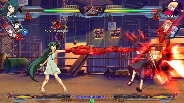 Nitro+ Blasterz - Heroines Infinite Duel Nitroplus_24