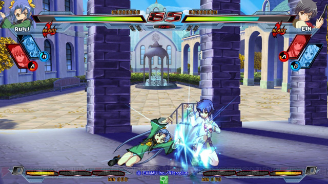 Nitro+ Blasterz - Heroines Infinite Duel Nitroplus_25