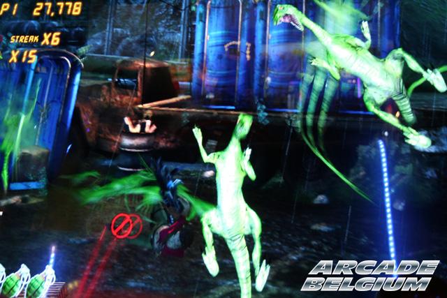 Jurassic Park Arcade Eag15041b