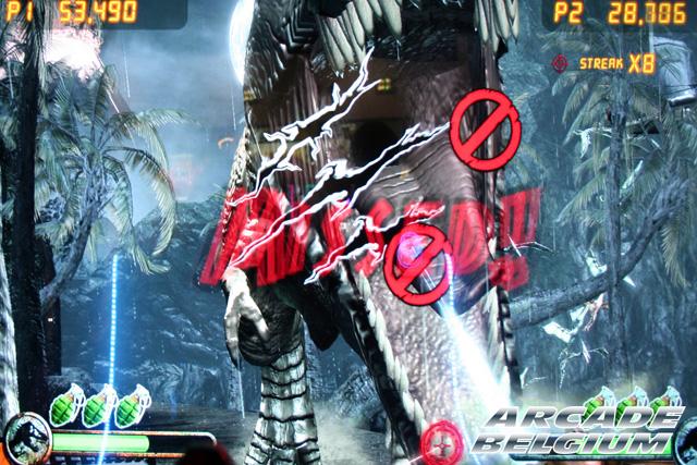 Jurassic Park Arcade Eag15044b