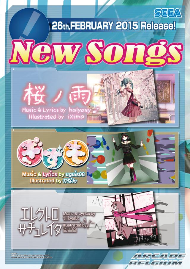 Hatsune Miku Project DIVA Arcade Future Tone Mikuft150226