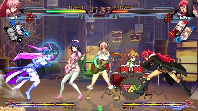 Nitro+ Blasterz - Heroines Infinite Duel Nitro04