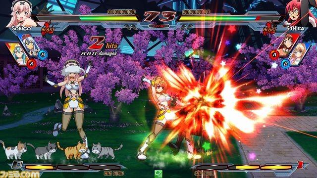 Nitro+ Blasterz - Heroines Infinite Duel Nitro10