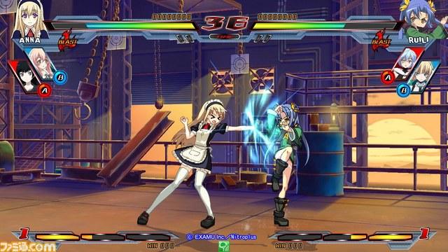 Nitro+ Blasterz - Heroines Infinite Duel Nitroplus_39