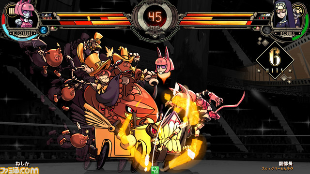 Skullgirls 2nd Encore for NESiCAxLive Skull2nd_03
