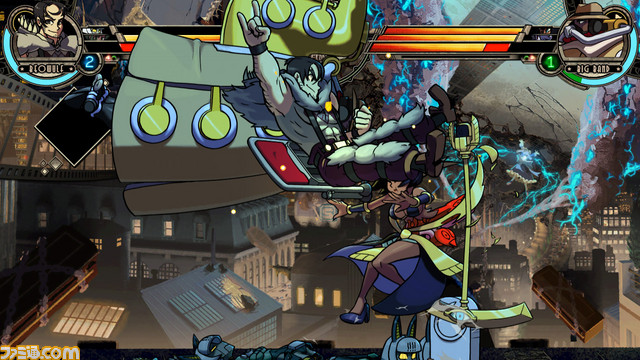 Skullgirls 2nd Encore for NESiCAxLive Skull2nd_04