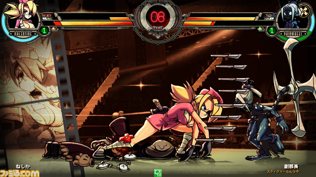 Skullgirls 2nd Encore for NESiCAxLive Skull2nd_05