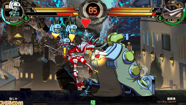 Skullgirls 2nd Encore for NESiCAxLive Skull2nd_07