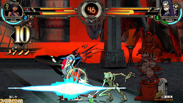 Skullgirls 2nd Encore for NESiCAxLive Skull2nd_09