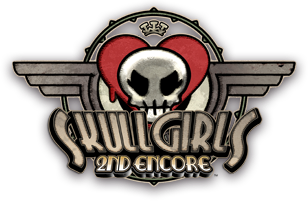 Skullgirls 2nd Encore for NESiCAxLive Skull2nd_logo