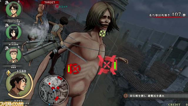 Shingeki no Kyojin (Attack on Titan) TEAM BATTLE Shingeki_10