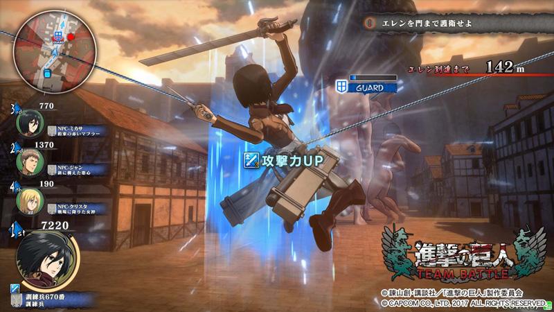 Shingeki no Kyojin (Attack on Titan) TEAM BATTLE Shingeki_42